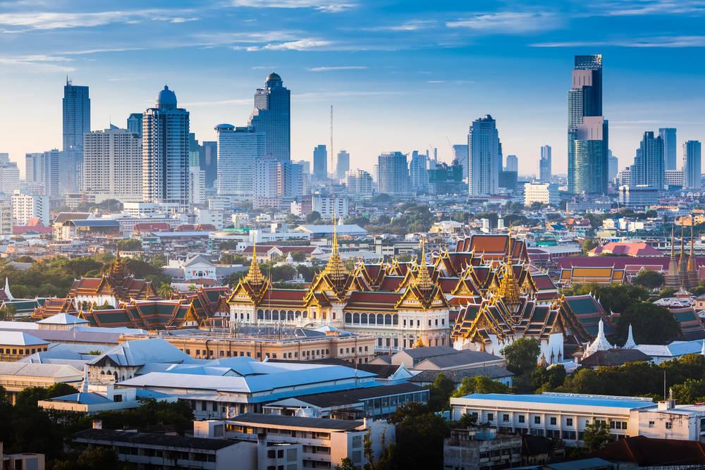 Bangkok, turismo de larga distancia