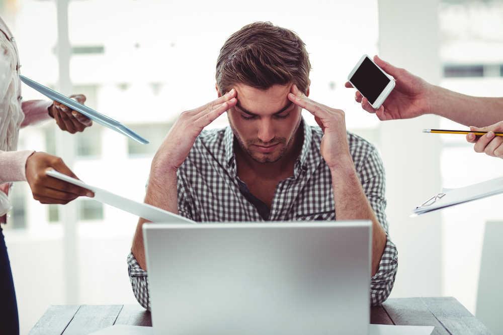 Un tercio de la población española sufre estrés laboral