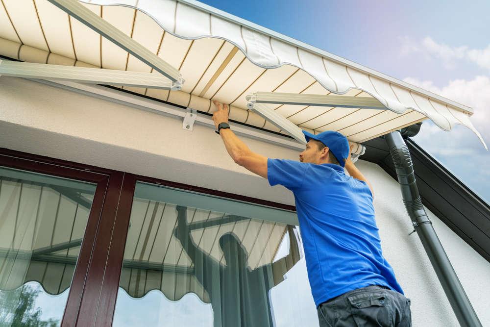 La protección de la terraza o balcón de los rayos solares